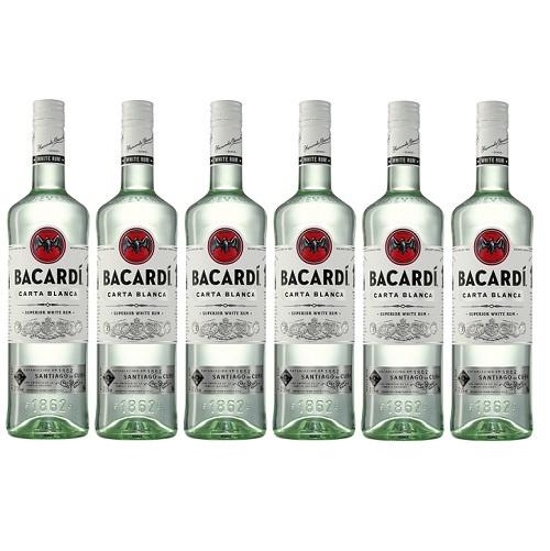 Bacardi Carta Blanca 1.0L Doos 6/flessen