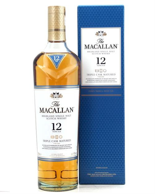 Macallan 12Y Triple Cask  0.7L