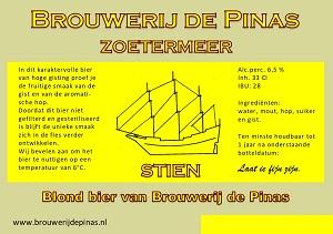 Stien Brouwerij de Pinas 0.75L