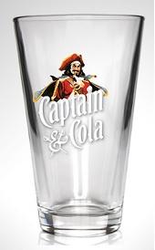 Captain Morgan Glas doos/6 st.