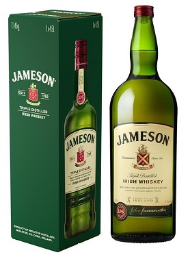 Jameson Irish whisky met Schommel 4.5L