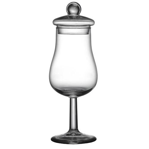 Whisky Nosing & Tasting Tulpglas met Dekseltje