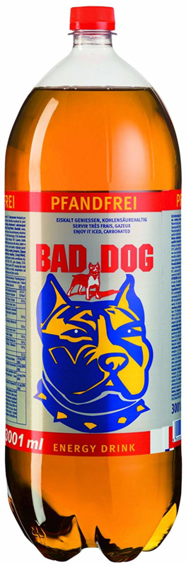 Energydrink Bad Dog  3.0L