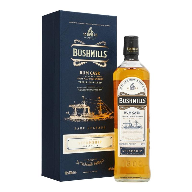 Bushmills Rum Cask Steamship Collection 0.7L