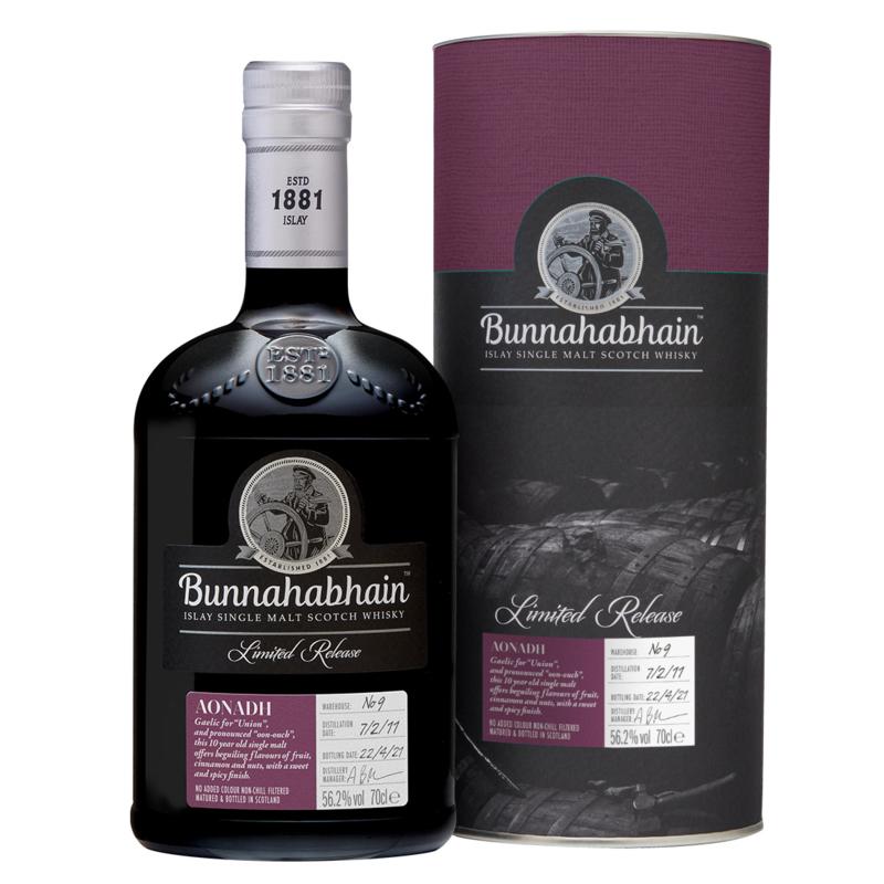 Bunnahabhain Aonadh Limited Release