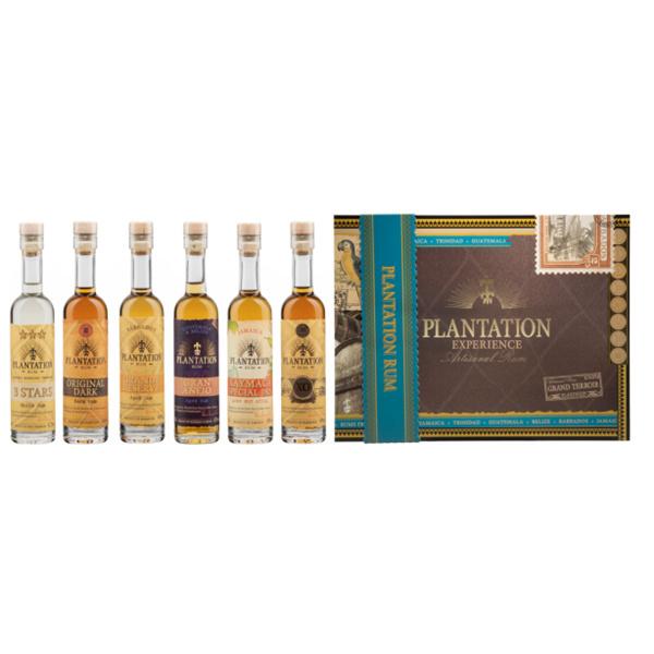 Plantation Experience Artisanal Rum set/ 6 fles  0.10L