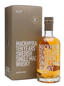 Mackmyra  10y Ten Years 0.7L