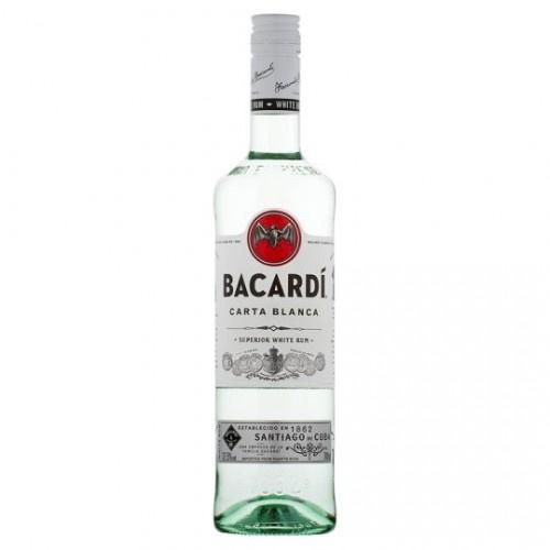 Bacardi Carta Blanca 1.0L