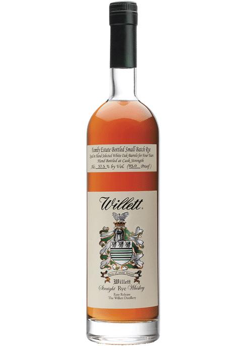 Willet Straight Rye Whiskey
