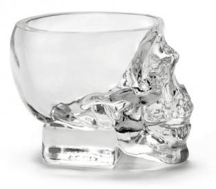 Crystal Head Skull Glas