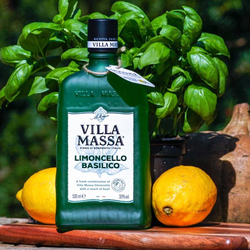 Villa Massa Limoncello Basilico 0,5L