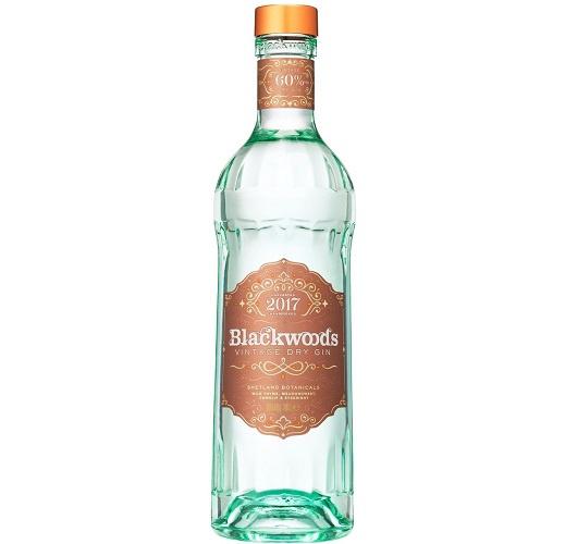 Blackwoods Vintage Dry Gin 60% 0.7L