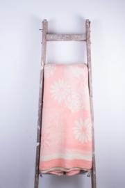Roze wit gebloemd
