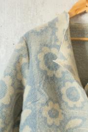 Blauw-Beige-wit