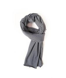 XL sjaal streepjes