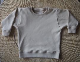 Sweater wafel zand