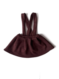 Suspender Rok rib bordeaux