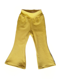 Flared pants mosterd
