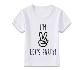 I'm two let's party