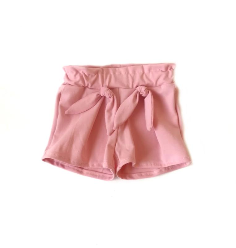 Korte broek hoog model roze