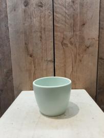 Pot mint groen  klein  ○ 10 cm