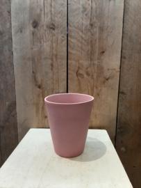 Pot mat roze (orchideeën pot) ○12,5 cm