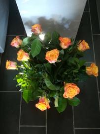 Rozen Boeket Oranje