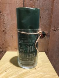 Cilinder vaas gefeliciteerd