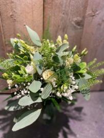 Wit met wilde eucalyptus