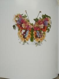 Staande vlinder (zoals foto)