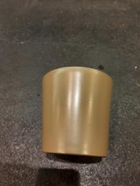 Pot groen/goud laag (orchideeën pot) ○12 cm