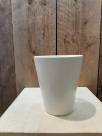 Pot mat wit (orchideeën pot) ○12,5 cm