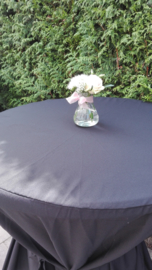 aankleding tafels flesjes