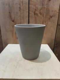 Pot mat grijs (orchideeën pot) ○12,5 cm