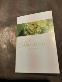 Rouwkaart Rust zacht groen middel