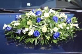 Autostuk blauw
