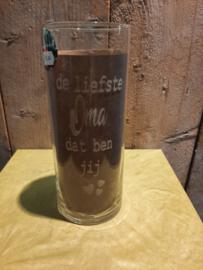 Cilinder vaas liefste Oma