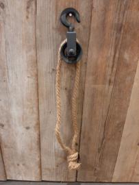 Kartrol met touw