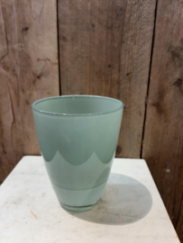 Glas/pot (Jade) groen ○12,5 cm