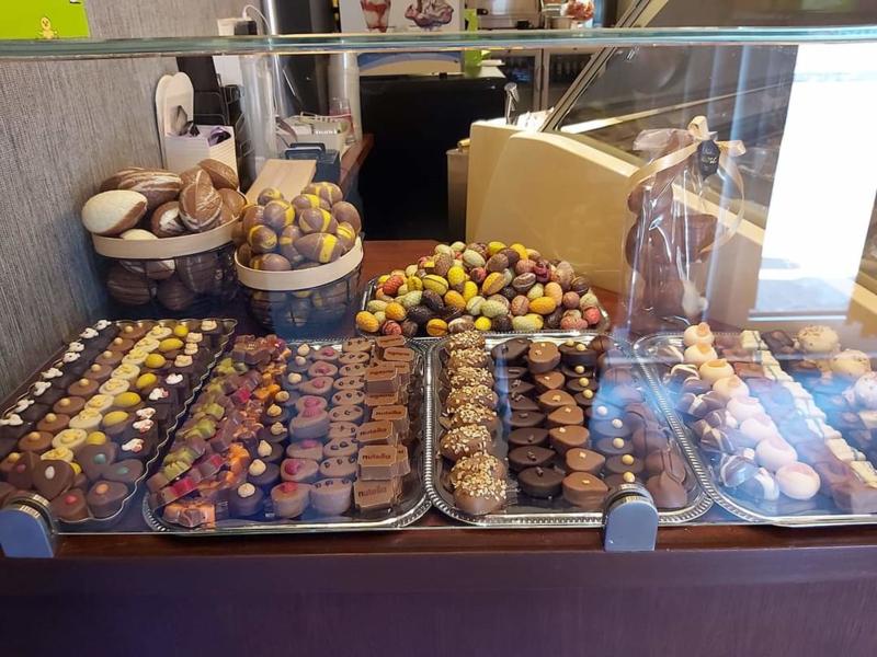 Moederdag Belgische chocolade bonbons (klein)