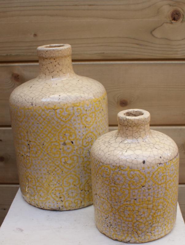 Gele Decoratie set