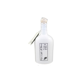Terracotta -Kruik Wit - 500ml olio extra verg