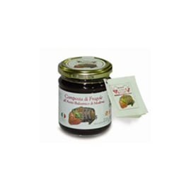 Composta di Fragole al balsamico -aardbeien