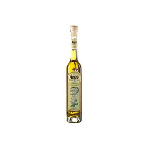 Extra vergine olio al Basilico
