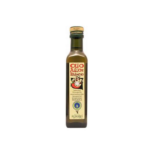 Olio al Peperonico e aglio Biologico