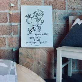 """Plaat print """"Avonturen"""""""