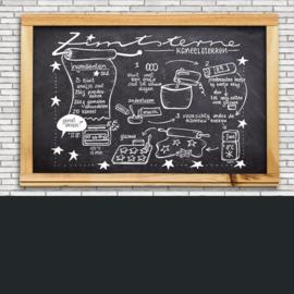 Krijtbord Illustratie Menukaart Receptillustratie