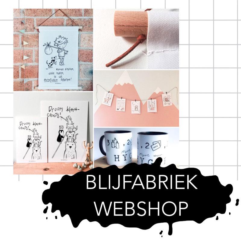 Webshop | Webwinkel | Ansichtkaart | Textielposter | Poster