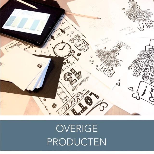 Illustratie producten ontwerpen relatiegeschenken persoonlijk cadeau