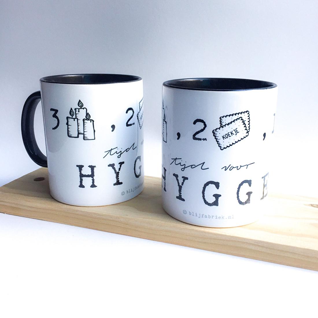 Koffiebeker Illustratie Theemok Hygge Beker ontwerpen